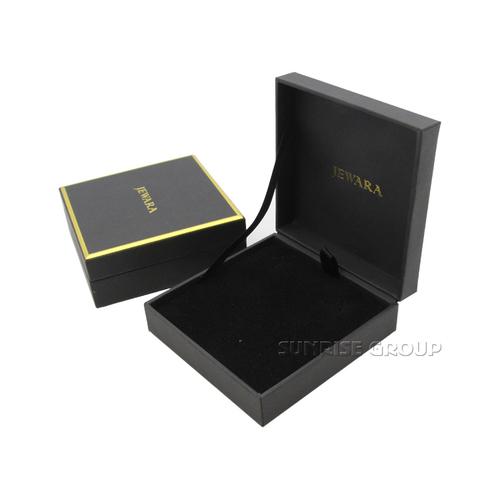 OEM Debossing Luxury Elegant Gift Packaging Jewelry Box
