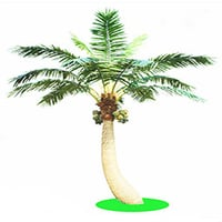Outdoor Coconut Artificial Palm Tree