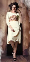 Ladies Net Anarkali Kurtis
