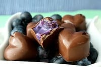 Blueberry Chocolates