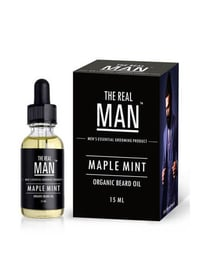 Maple-Mint The Real Man Beard and Mustache Oil