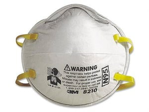 3M 8210 N95 Noish Approved Respirators