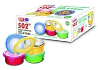 502NX Plastic Container With Inner Steel