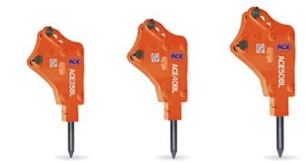 ACE Backhoe Loader Type Hydraulic Breakers