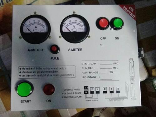 Single Phase Motor Starter Control Panel in Ahmedabad, Gujarat