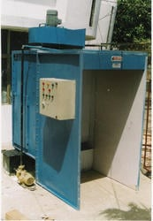 Water Wash Type And Wet Type Paint Booth