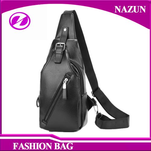 Black Cross Body Bag For Men