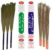 Grass and Coconut Brooms