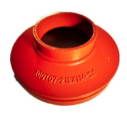 High Quality Grooved Concentric Reducer