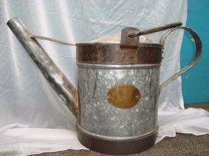 Galvanized Metal Water Cans