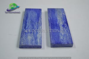 Dyed Stabilized Bone Knife Handle Scale