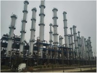 Crude Aromatic Separation Plant