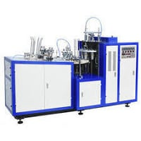 Disposal Plastic Glass Making Machine