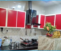 Aluminium Modular Kitchens