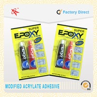 Quick And Strong Aluminum Tube Adhesive 4 Minute Ab Epoxy Resin Glue