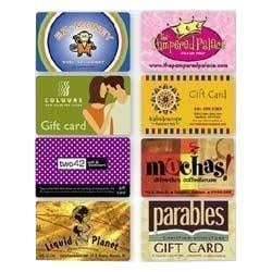 Magnetic Stripe Shopping Loyalty Card