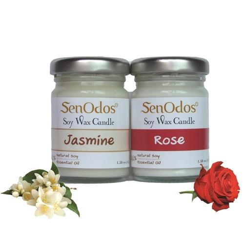 Romantic Floral Set - Soy Candles 45g