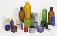 Printing Cosmetic Glass Bottle