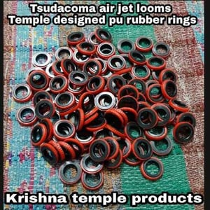 Temple Dummy Knurling Rubber Rings For Sulzer Looms