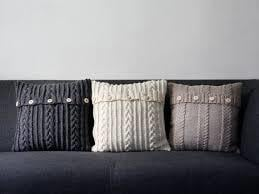 Fancy Knitted Cushion Covers