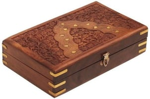 Wooden Box for Jewellery