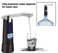 Watamate - Prime- Can Bottle Electric Water Pump Dispenser with Power Plug Adapter