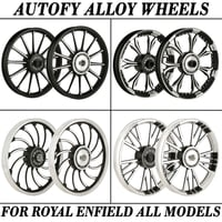 Autofy Bike Alloy Wheels