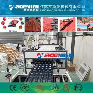 PVC Roof Sheet with ASA Resin Coating Extrusion Machine