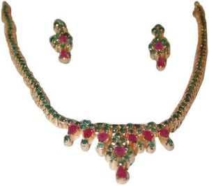 Ruby and Emerald Jewellery