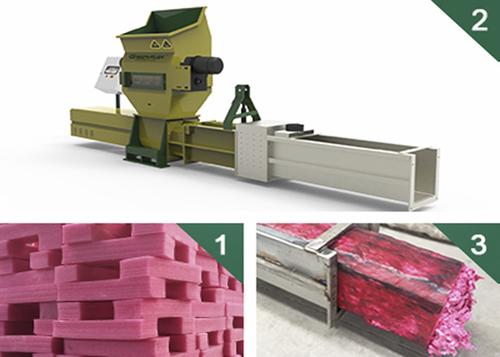 Greenmax Zeus Series Styrofoam Recycling Machines