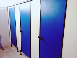 12mm Thick Toilet Cubicles