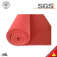 High Quality Customized Colorful Silicone Foam Sheet