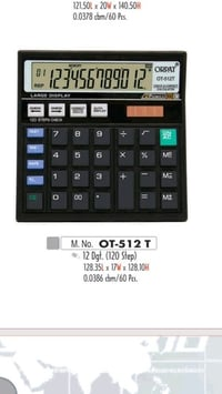 Orpat OT-512 GT Calculators