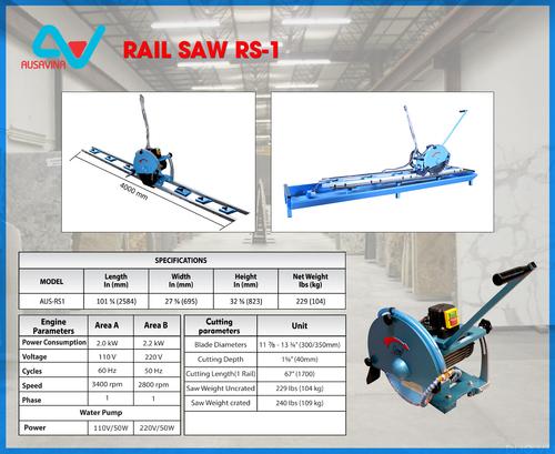 Durable Rail Saw Rs1