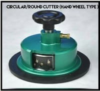 Hand Wheel Type Circular/Round Cutter