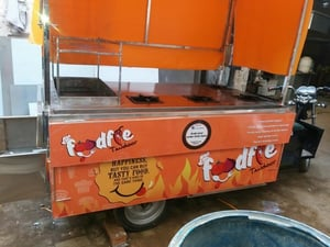 Eco Friendly Electric Food Cart