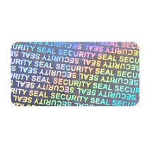 Holographic Security Label Seal