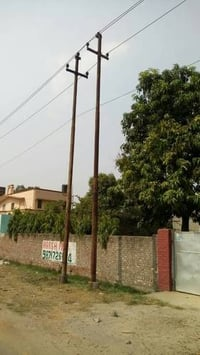 Galvanized Metal Steel Electrical Poles