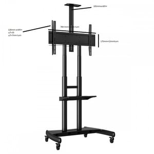 LED LCD Floor Stand
