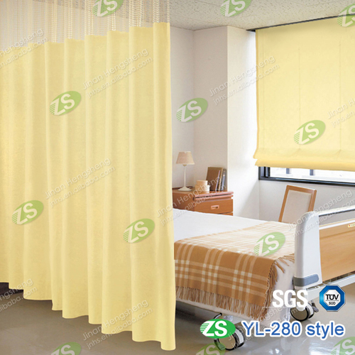 Waterproof Healthcare Protect Privacy Fabric Medical Hospital Curtain
