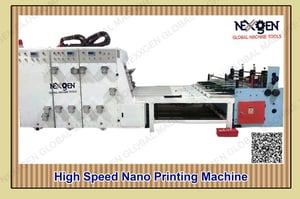 Chain Feeding Printer Rotatry Die Cutter With Ring Attachment