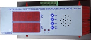 Programmable Temperature And Humidity Indicator