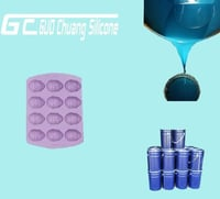 No Smell FDA Silicone Rubber Raw Material For Chocolate Moulds