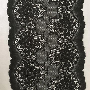 Colorful Nylon Spandex Gallon Lace Trim Fabric for Brassiere Lingerie And Briefs