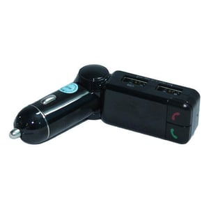 BT FM Radio Transmitter 2 Port Charger with Audio Receiver