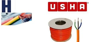 Usha 10 mm PVC Insulated Copper Flexible Cable