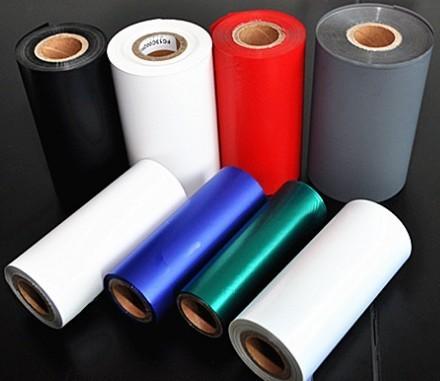 Near Edge Color Thermal Transfer Ribbon