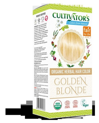 Golden Blonde Organic Herbal Hair Color