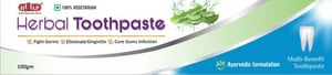 Ayurvedic And Herbal Toothpaste