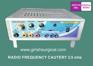 Radio Frequency Cautery 3.5 MHZ